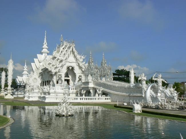 Chiang Rai - White temple - Golden Triangle