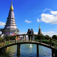 Private Doi Inthanont National Park The Highest Peak of Thailand.