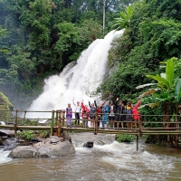 Private One Day Doi Inthanont National Park + Soft Trek at Phe Dork Siew Waterfall. Chiangmai tours