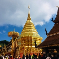 Private Half Day Doi Suthep Temple and Phu-Bhing Winter Palace