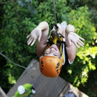 Feel you adrenaline while hanging above the ground. www.chiangmaitourcenter.com